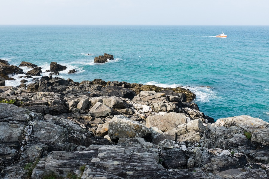 a seascape from the island St. Ives