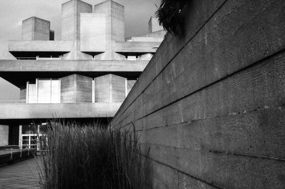 Roof Terrace, National Theatre. London