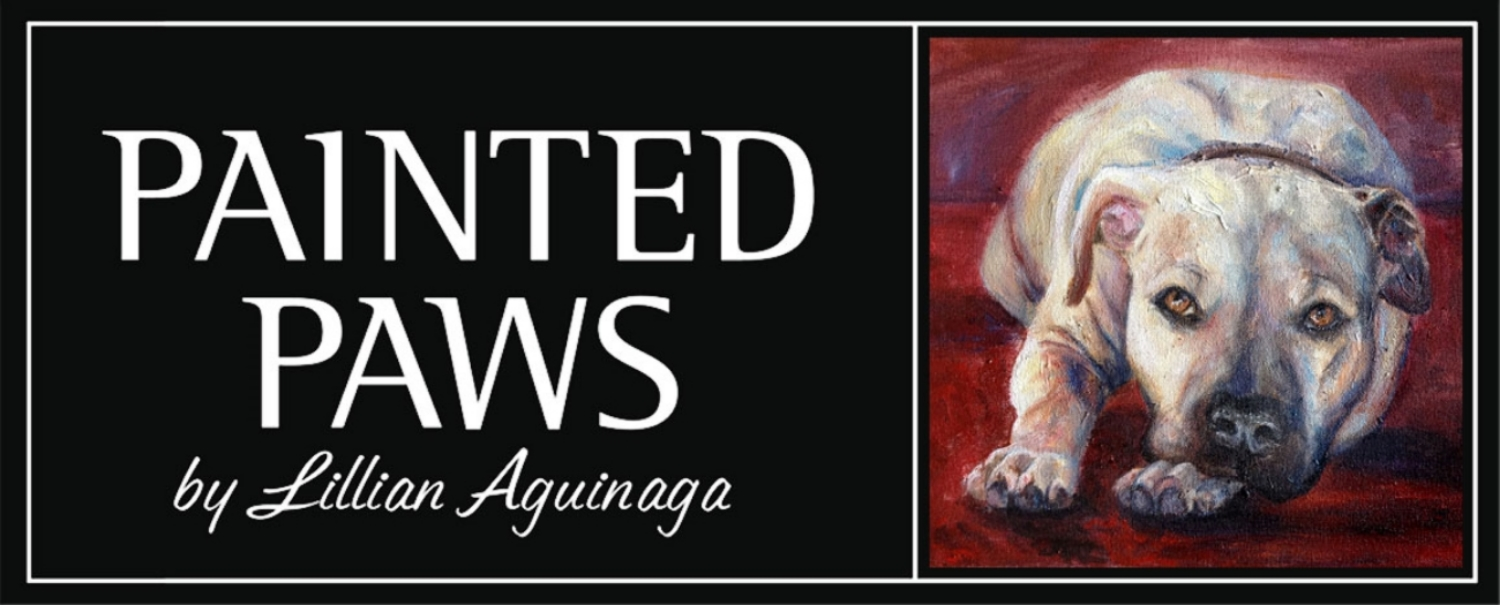 Painted Paws by Lillian Aguinaga