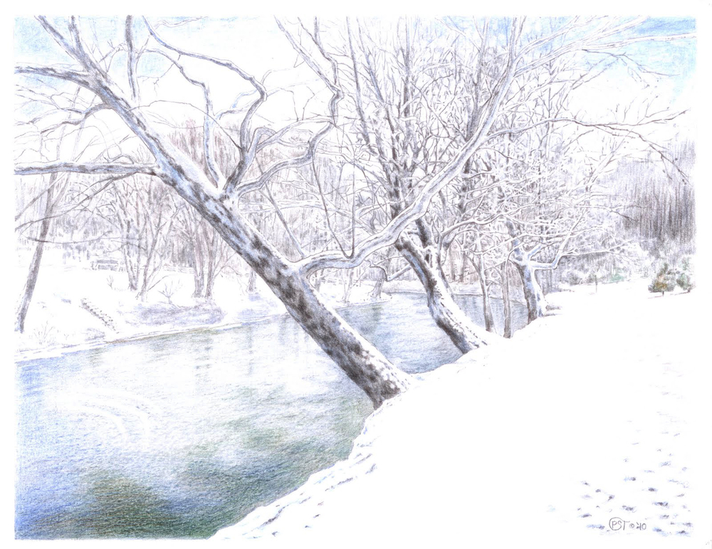 Middle River Winter
