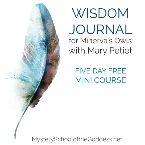 As the fall days lengthen it's the prefect time to turn inward. Join my Wisdom Journal for a free five day exploration of your inner space and automatic newsletter membership for future offerings!