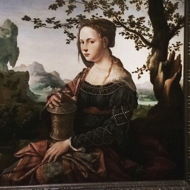 Mary Magdalen by Jan van Scorel, 1495-1562 #DutchScoop #rijksmuseumamsterdam #amsterdam #art