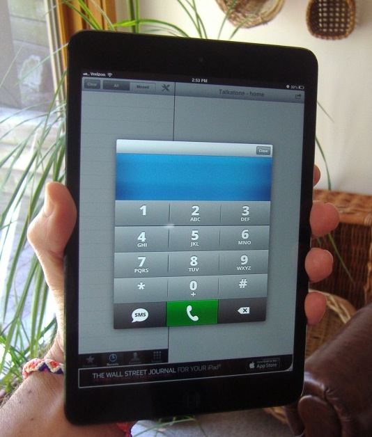 3 months with the iPad phone: calling, texting, and carrying