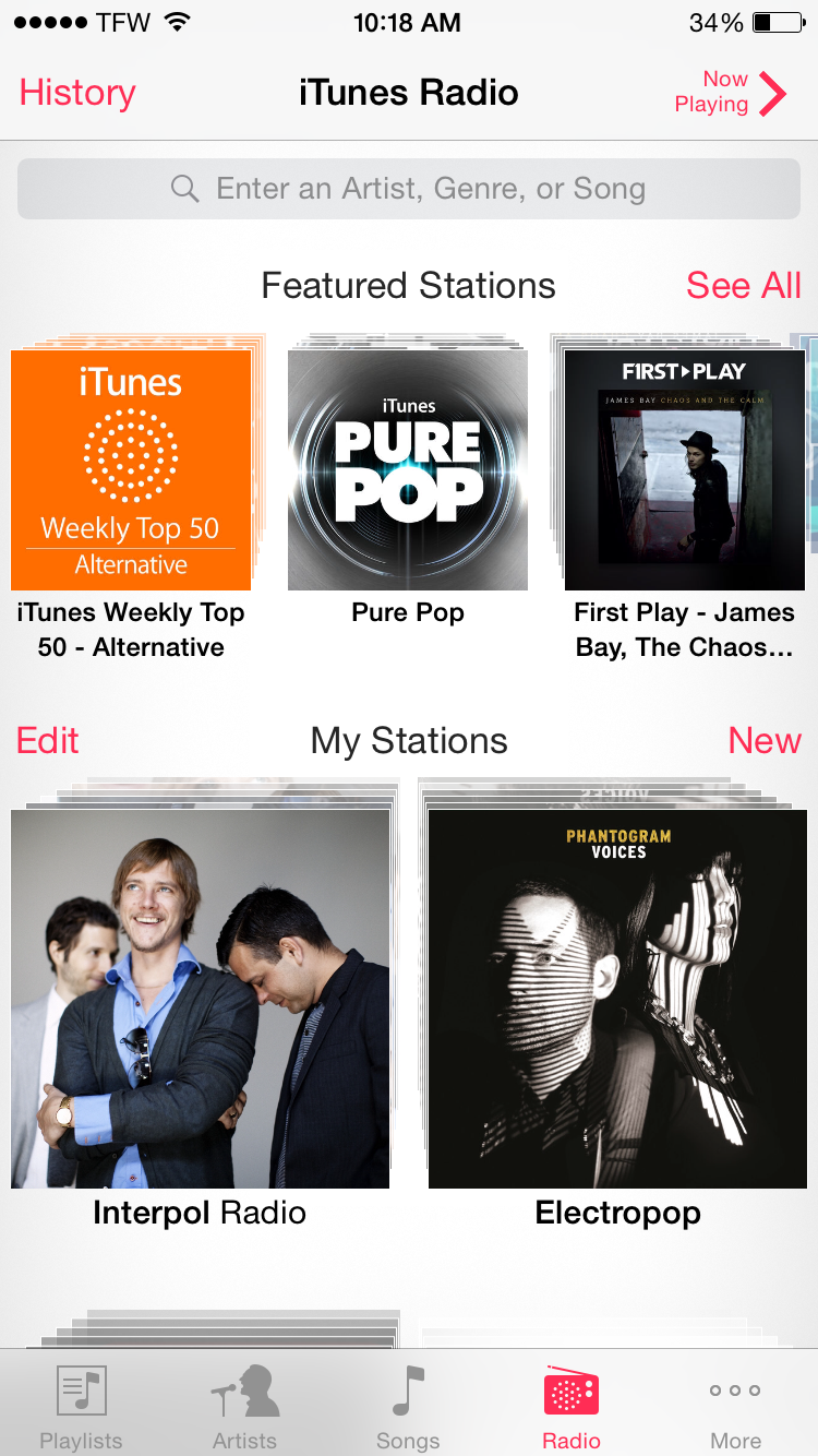 best free music streaming services Pandora vs Spotify vs iTunes Radio