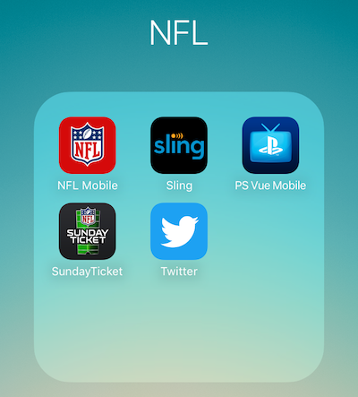 Apps to watch NFL online without cable