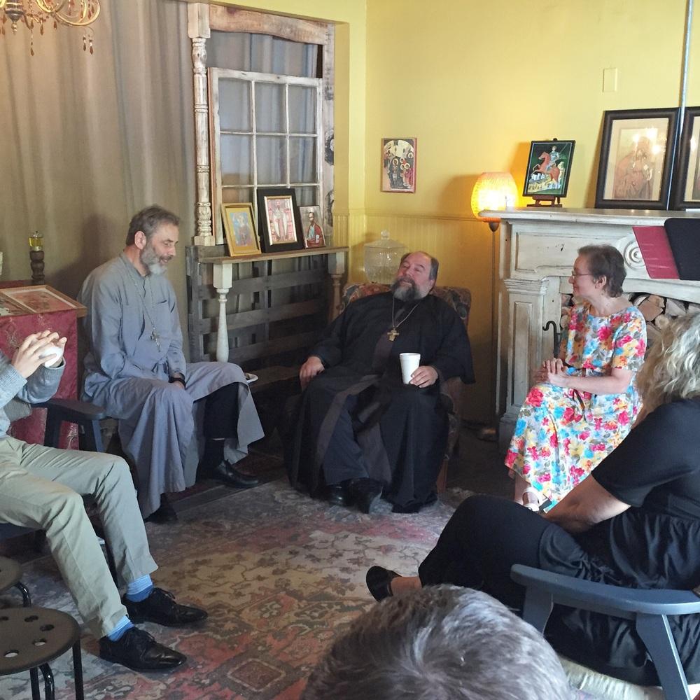 Fr. Alexander visits St. Basils