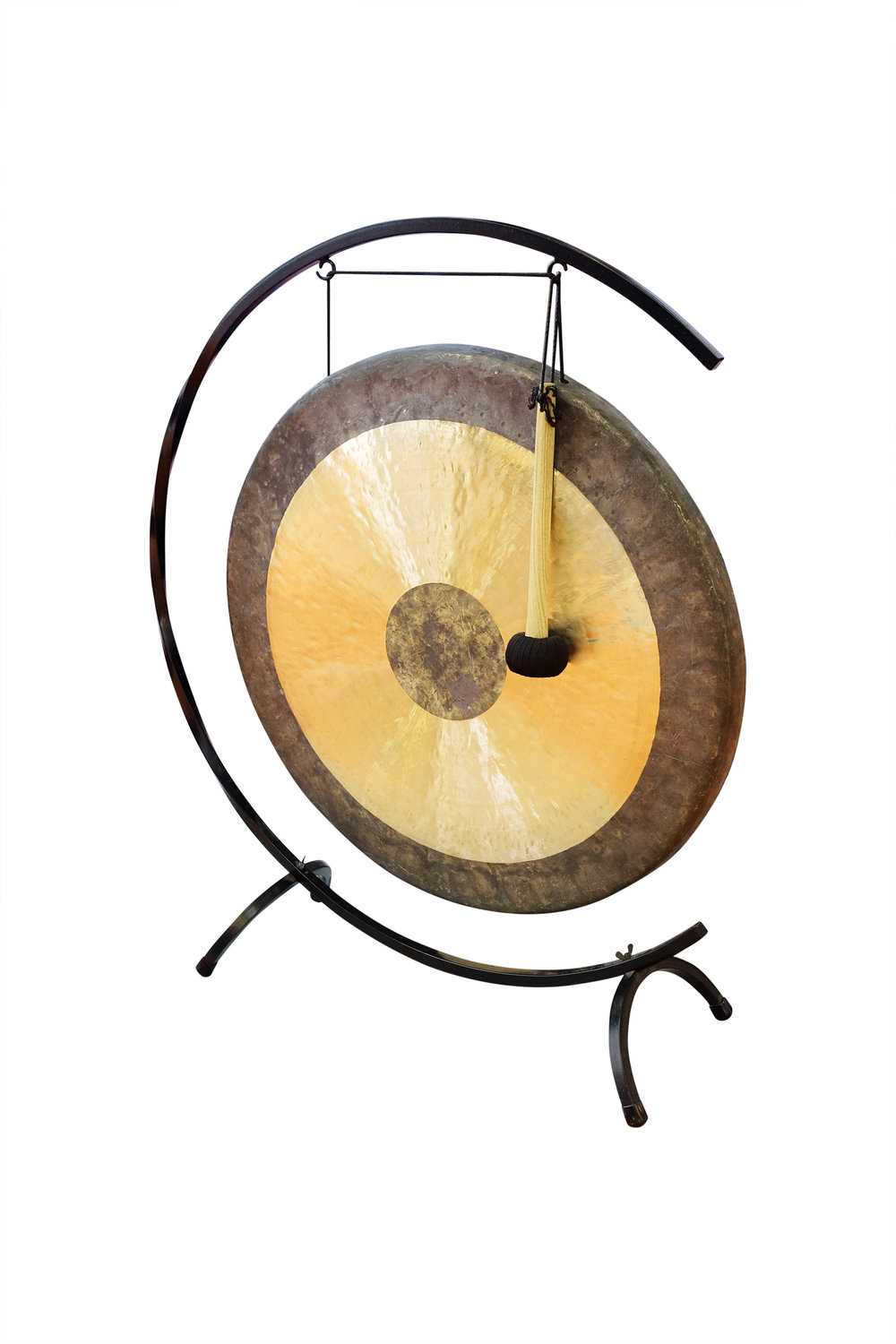 Image: This is an interesting gong, although not one of mine, it's a Chinese Chao Gong.