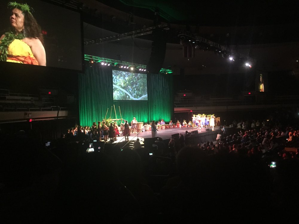 The Opening Ceremony of the IUCN World Conservation Congress in Hawaii