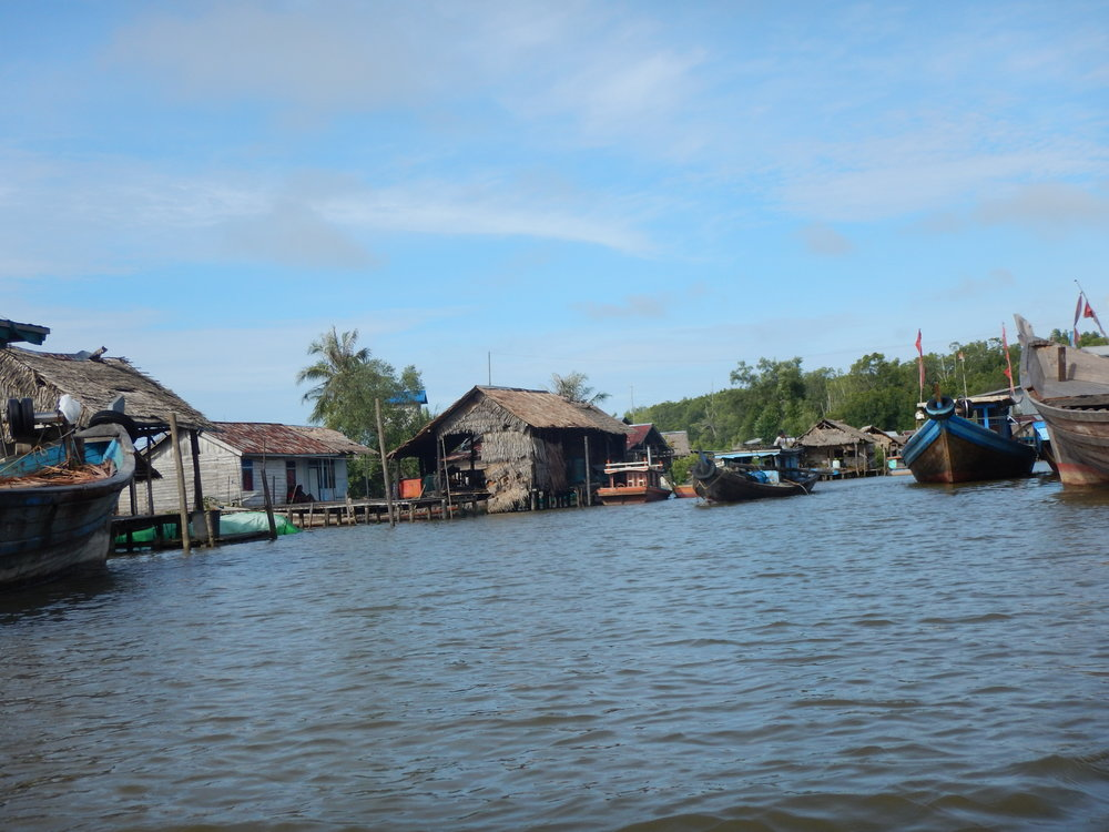 The Village of Dabung, one of the villages where we are launching our new oceans project