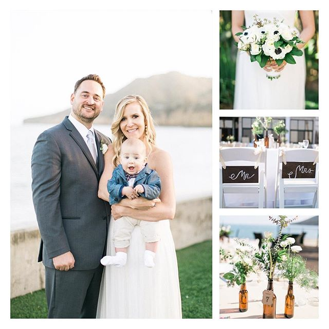 Happy belated wedding anniversary, @holliegolightly!!!!! I can't believe a year has gone by already! This is going to be another exciting year for you 😉 . . . #weddinganniversary #springwedding #easterwedding #eventplanner #eventcoordinator #sandiegoweddingplanner #sandiegowedding #pointloma #waterfront #outdoorwedding