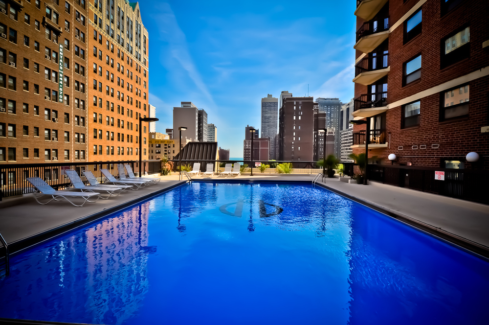 Enjoy The Pool All Summer Long    BOOK ONLINE AND SAVE $300    Call: (312) 614.1475