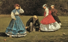 Approximately zero people will be dressed like they just stepped out of this Winslow Homer Painting.