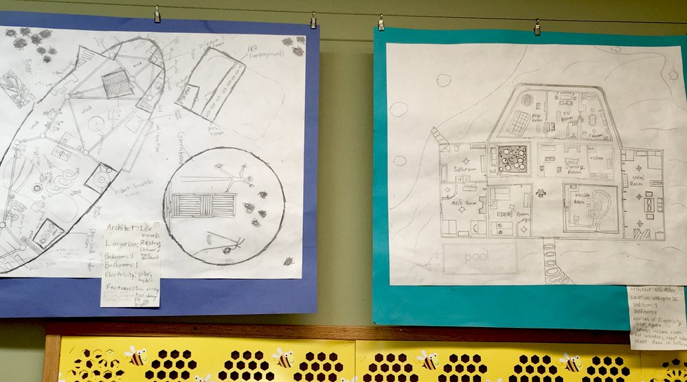 5th Grade Blueprints - The ability to think outside the box is quite an important skill.