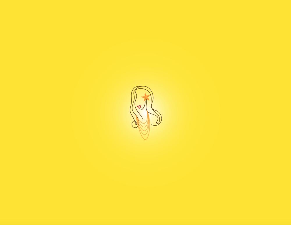 Predesigned Island Lady Logo