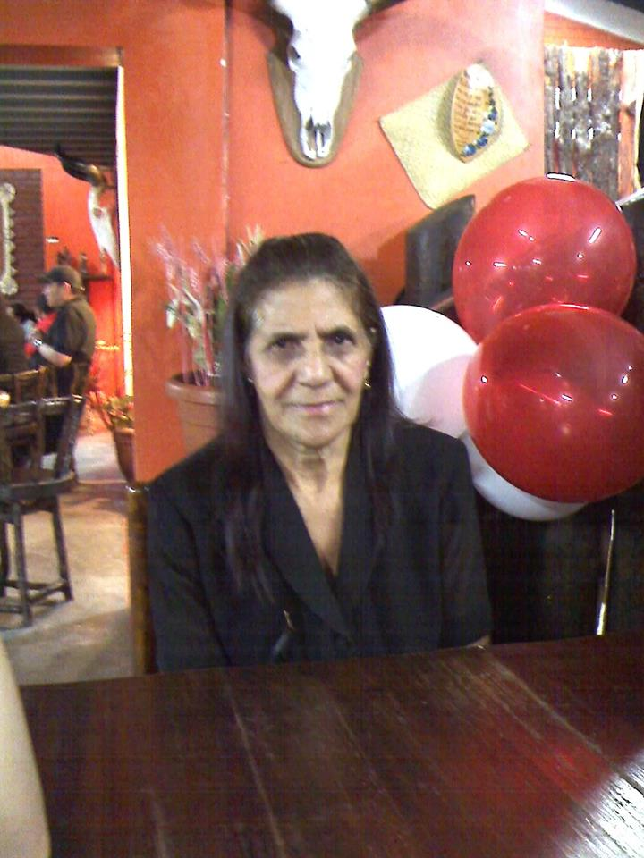 Photo caption: Doña Teresa