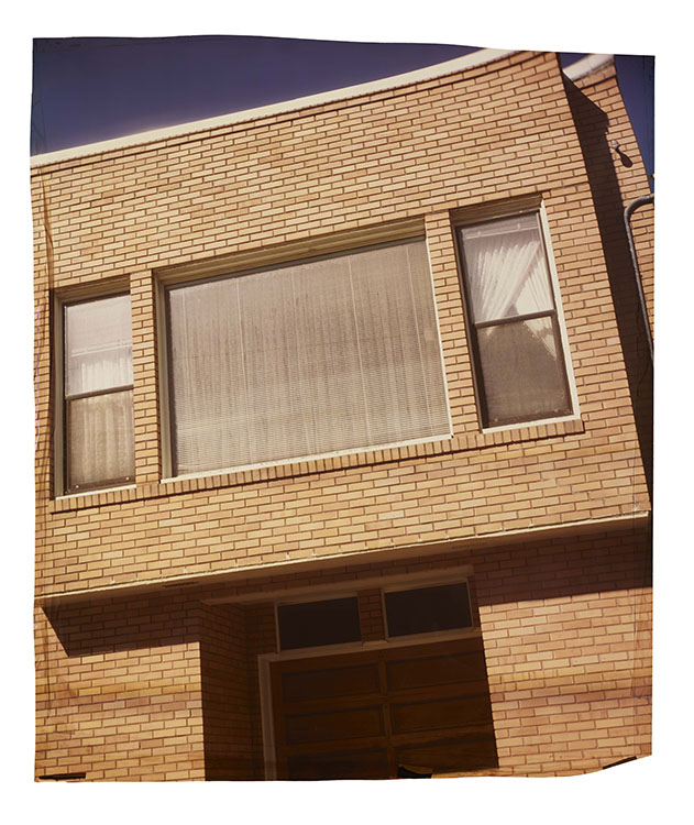 21st at Noriega, Mid-block , 2013 Camera Obscura Ilfochrome Photograph, Unique | 33 x 28 inches | HG12087
