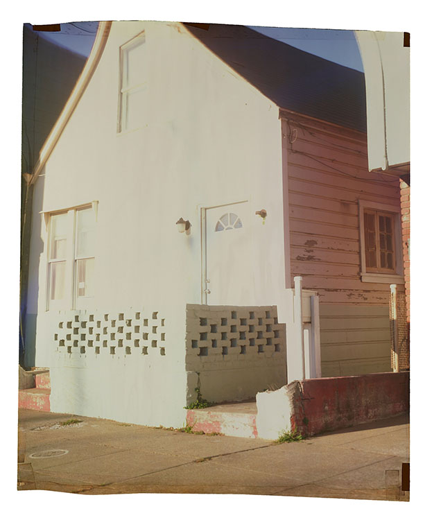 143 Somerset , 2014 Camera Obscura Ilfochrome Photograph, Unique | 35 x 29 inches | HG12242