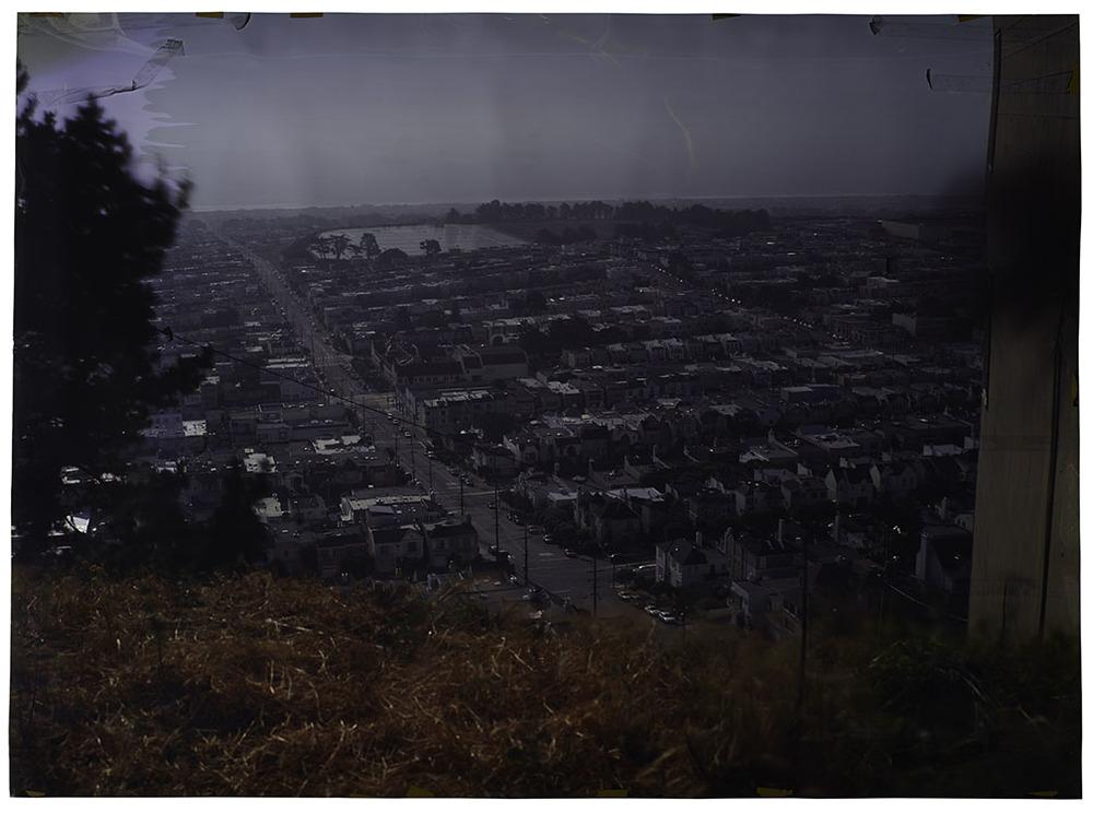 Funston at Cascade , 2013 Camera Obscura Ilfochrome Photograph,Unique |50 x 72 inches | HG11937