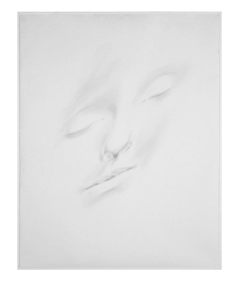 Slumberland XVI (Lou) , 2014  Graphite on paper | 56 x 45 inches | HG12990