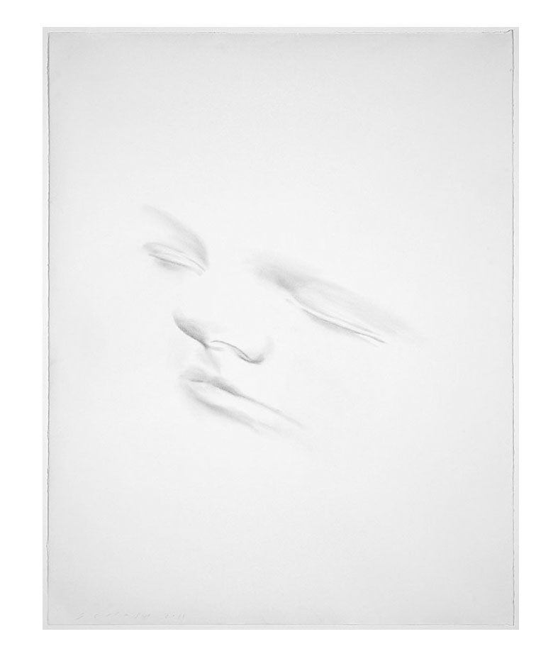 Slumberland IV (Anna B) , 2014 Graphite on paper | 56 x 45 inches | HG12991