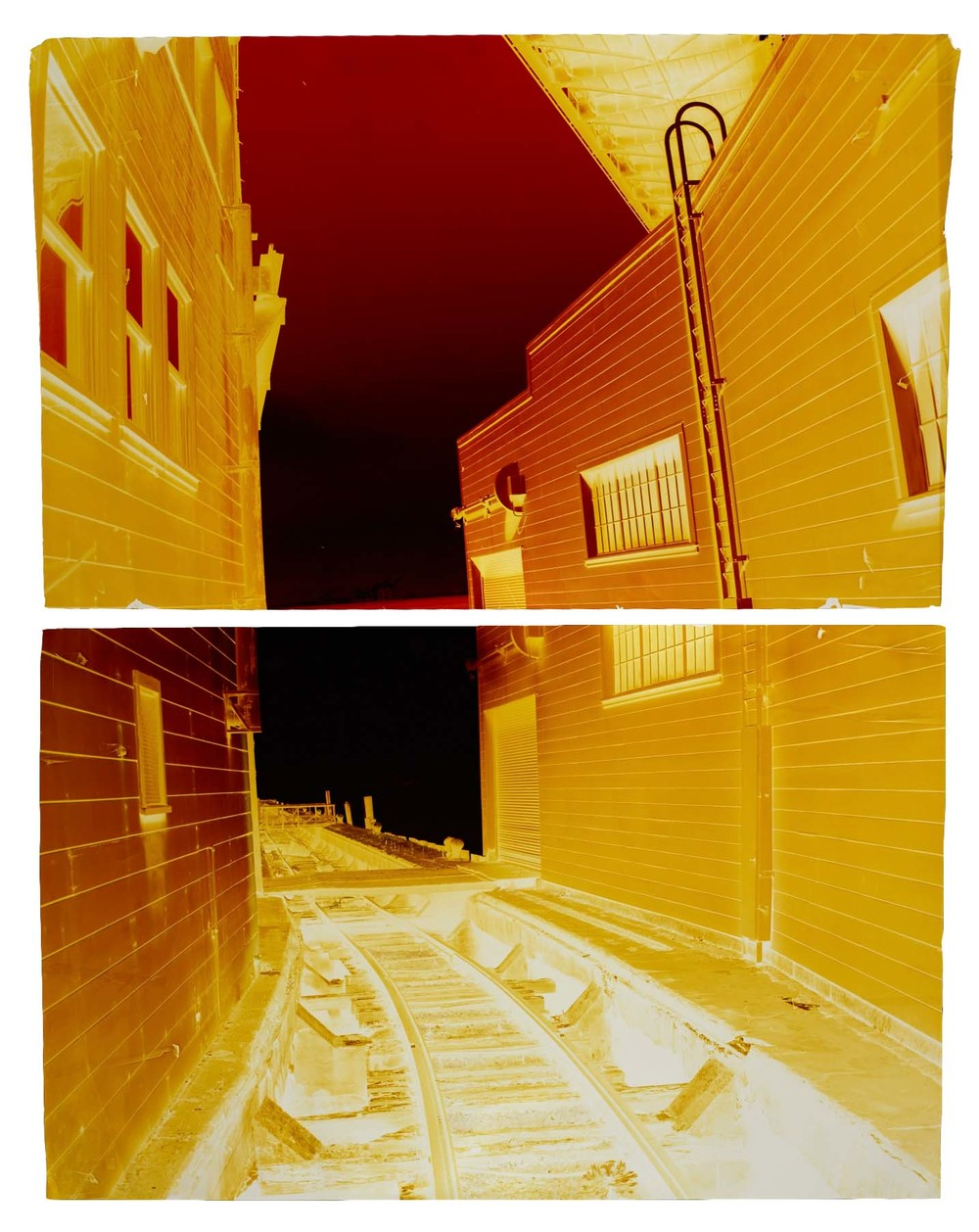 Embarcadero at Interstate 80, Variation B, 2013 Camera Obscura Ilfrochrome Photograph, Unique | 50 x 75 inches | HG12073
