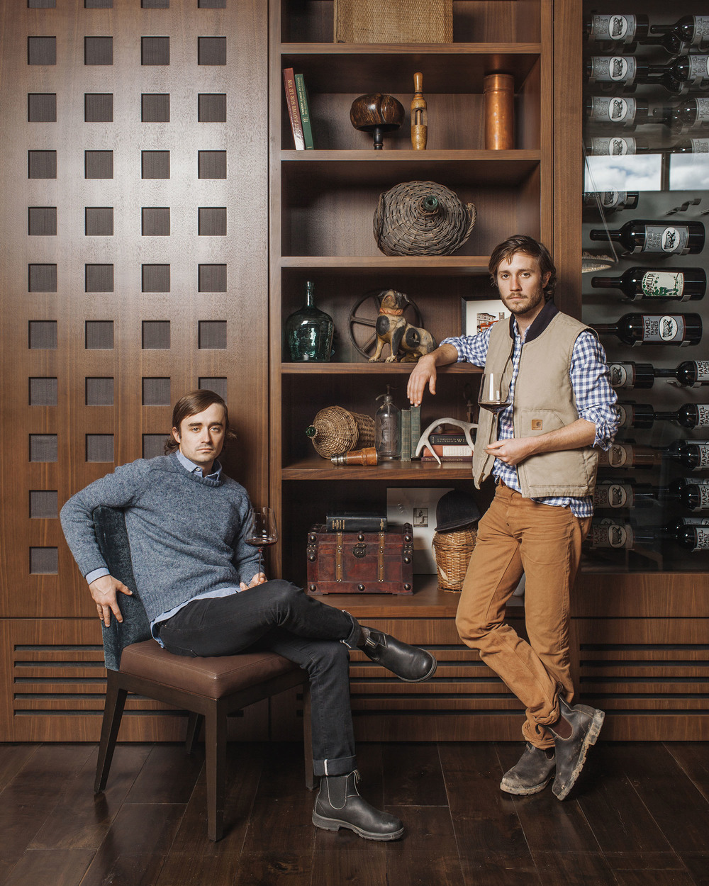 George Hamel III and John Hamel II / Worth Magazine