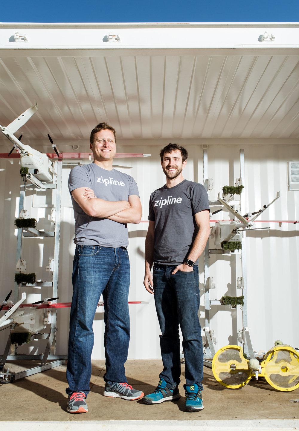 Keenan Wyrobek and Keller Rinaudo | Zipline | RBC Magazine