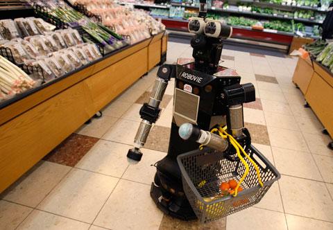 shopping robot image