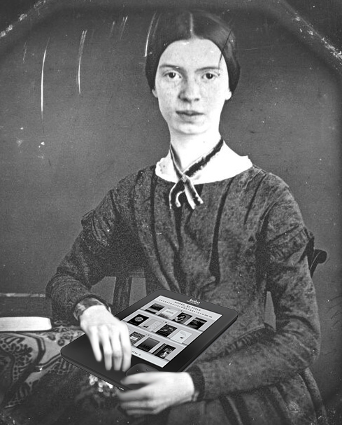 Emily Dickinson and her beloved Kobo