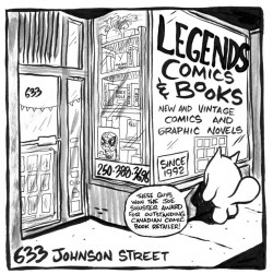 Legends Comics and Books