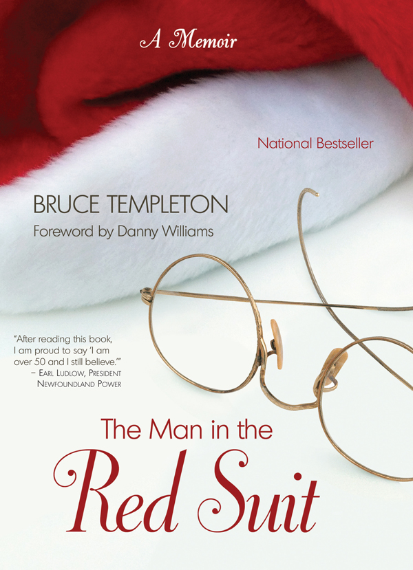 The Man in the Red Suit by Bruce Templeton