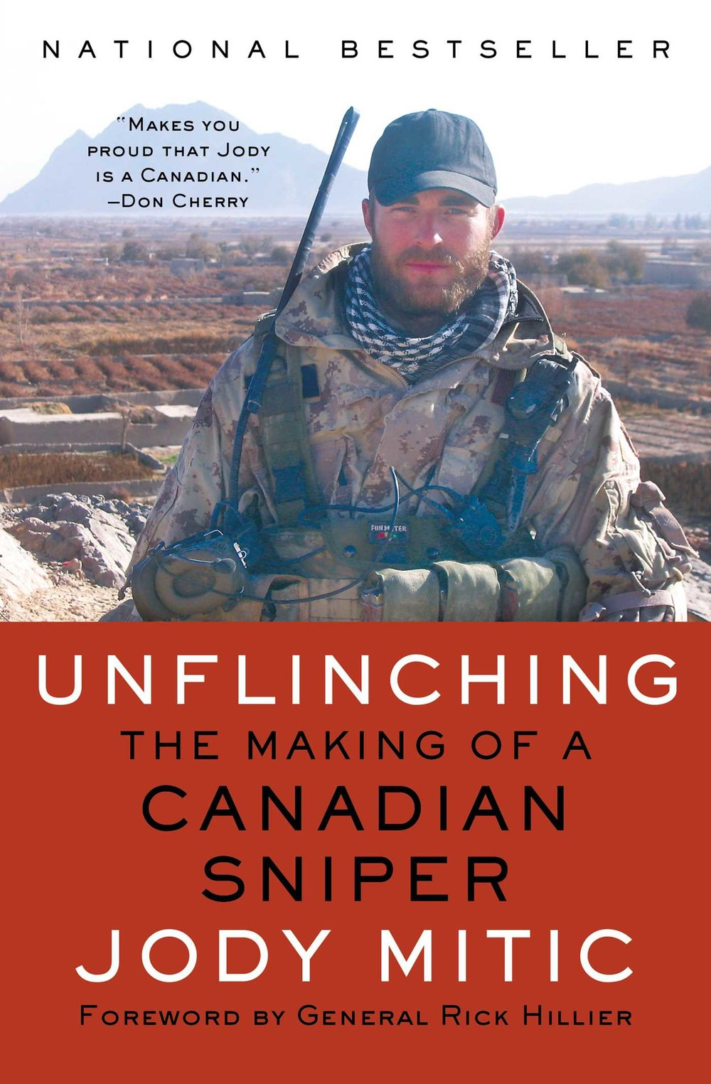 Unflinching by Jody Mitic