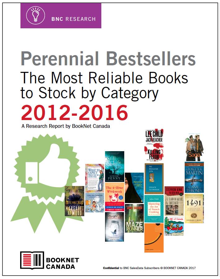 Perennial Bestsellers report cover.