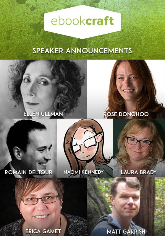 Photos of ebookcraft speakers.