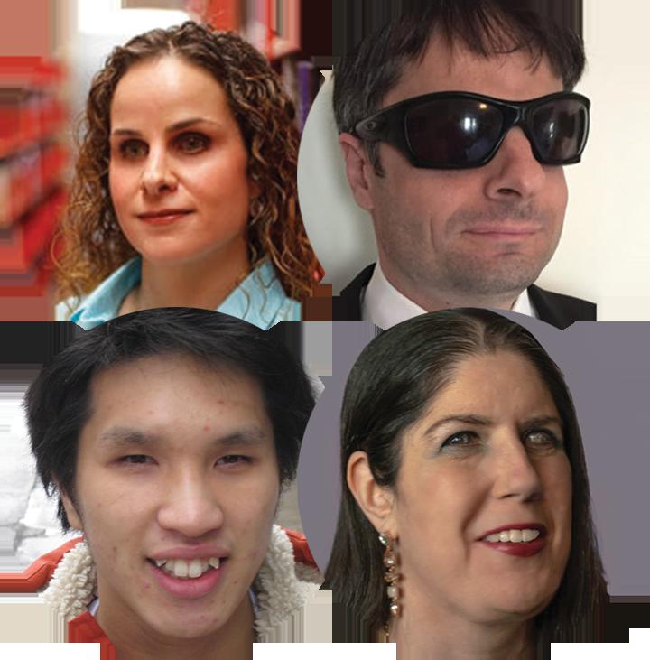 Photos of Daniella Levy-Pinto, Steve Murgaski, Ka Li, and Karoline Bourdeau.