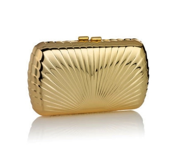 Gold Metal Clutches