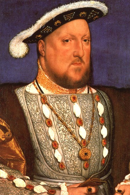The gems in Hans Holbein's portrait of Henry VIII are most certainly golden brown topazes, as no other gem in that color was considered suitable for royalty at the time.