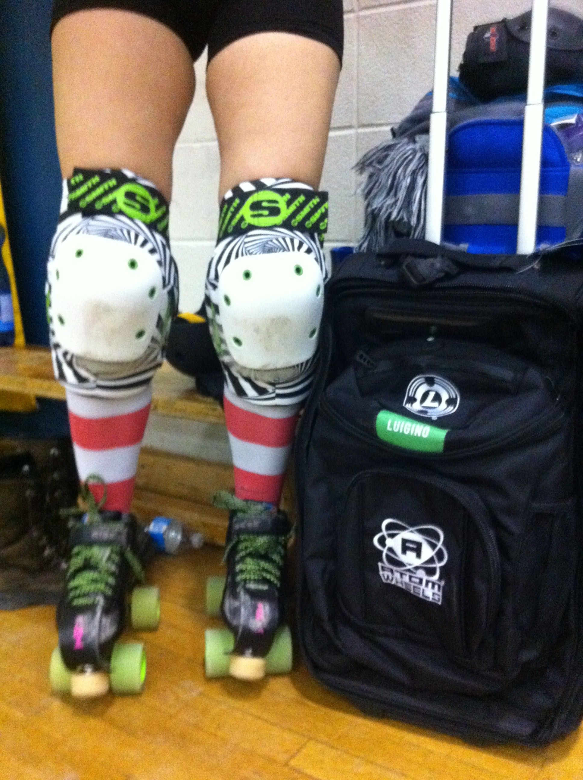 Knee pads & bag