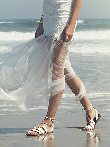 Maddie Tie Up Sandal