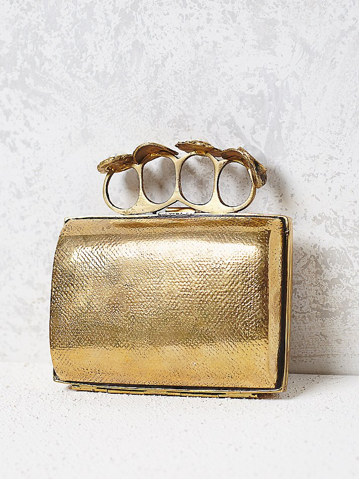 Zane Gold Clutch I1