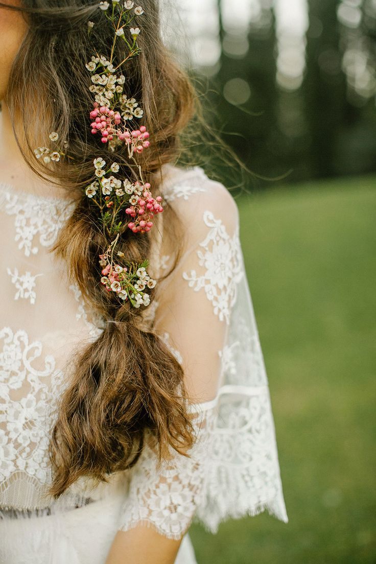boho wedding hair - braids — the bohemian wedding