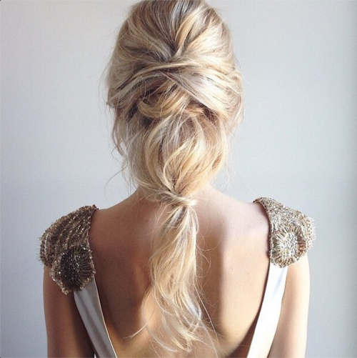Wedding Hairstyles Boho: The Bohemian Wedding