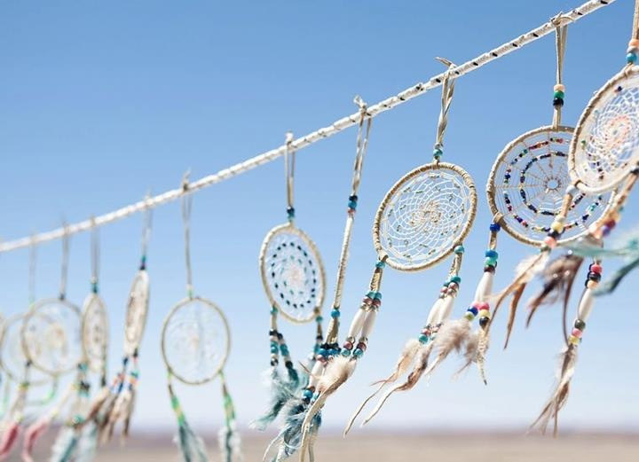 Dreamcatchers on a Line
