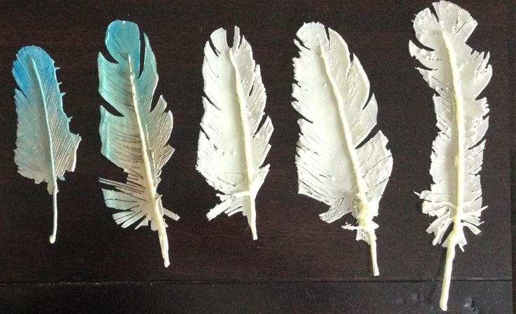 Chocolate Feathers