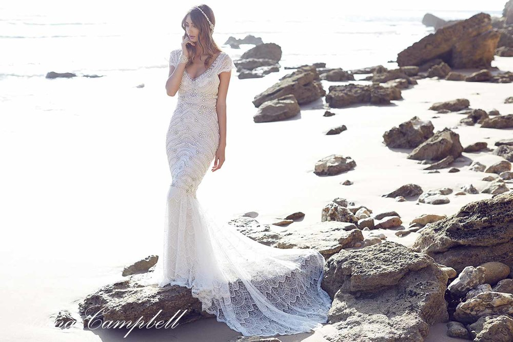 Anna Campbell Spirit Collection Wedding Dress 7