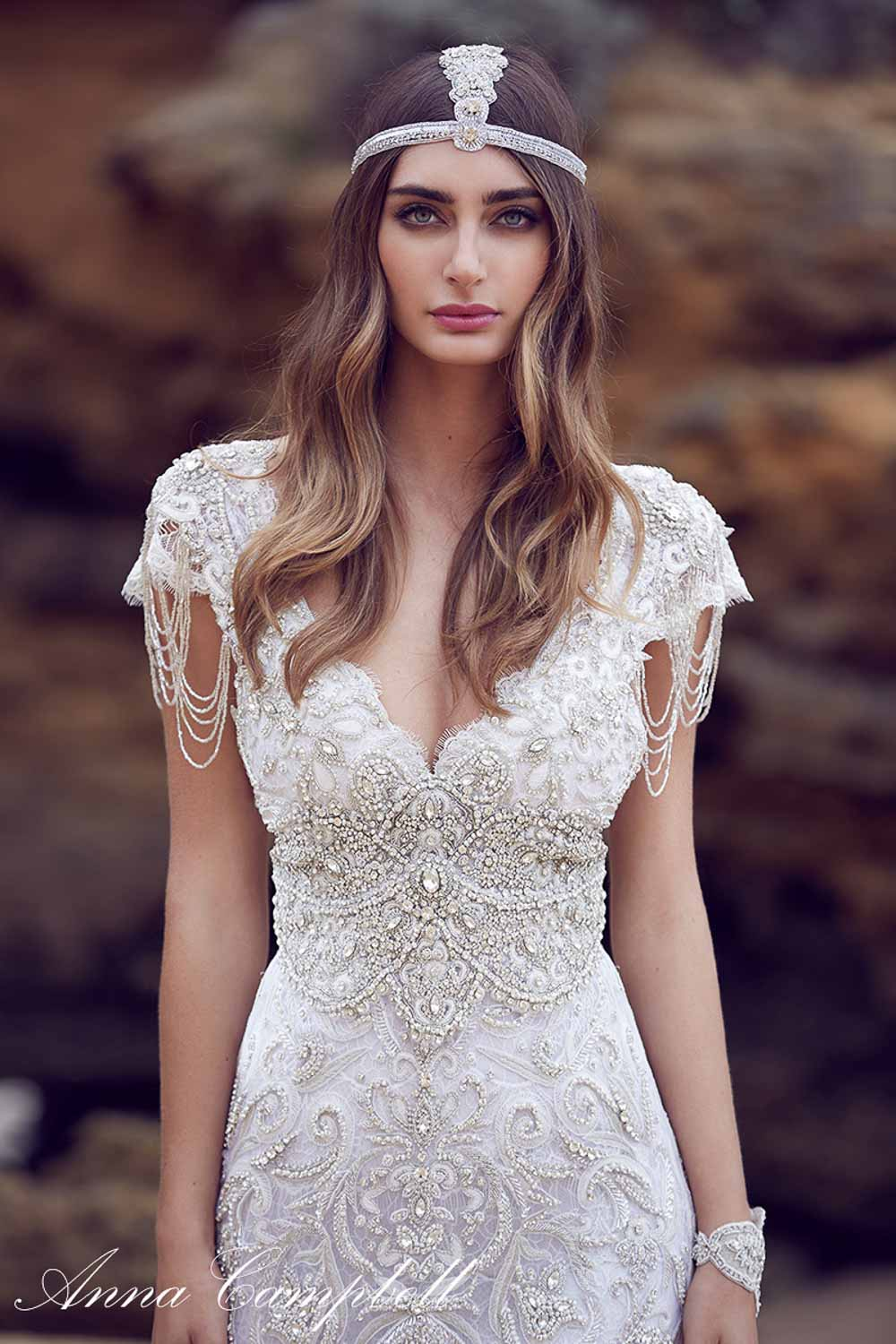 Anna Campbell Spirit Collection Wedding Dress 11