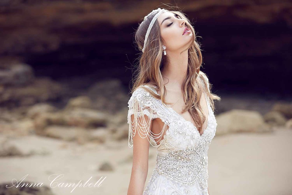 Anna Campbell Spirit Collection Wedding Dress 14