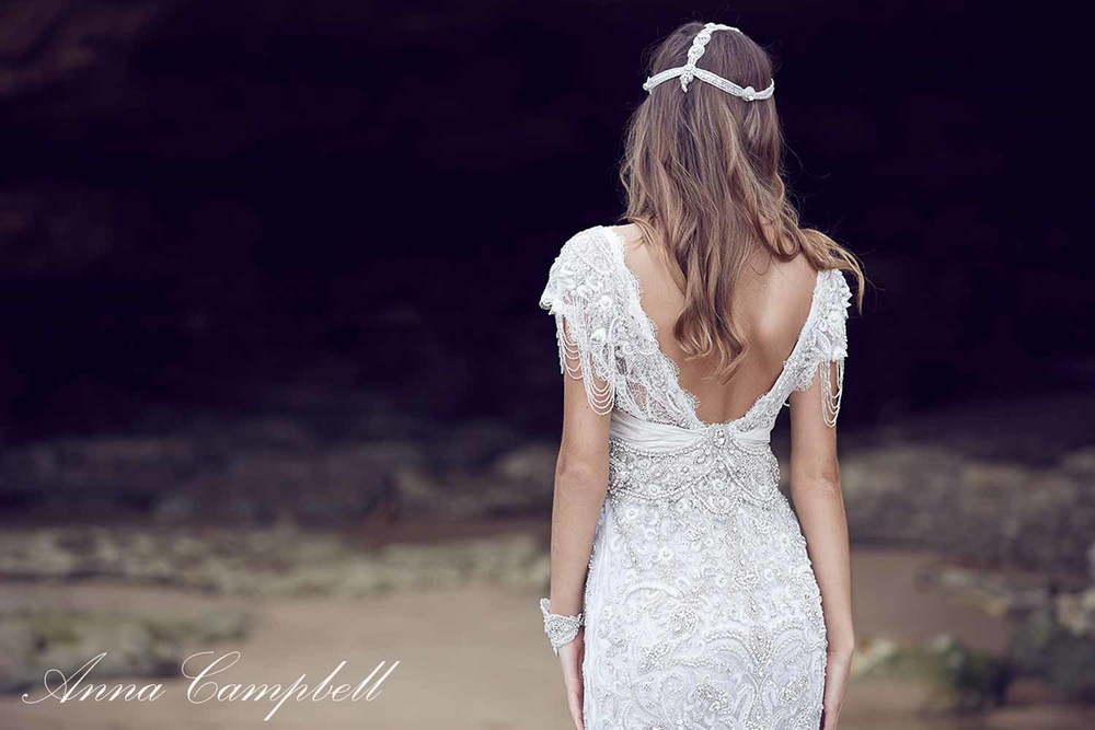 Anna Campbell Spirit Collection Wedding Dress 16