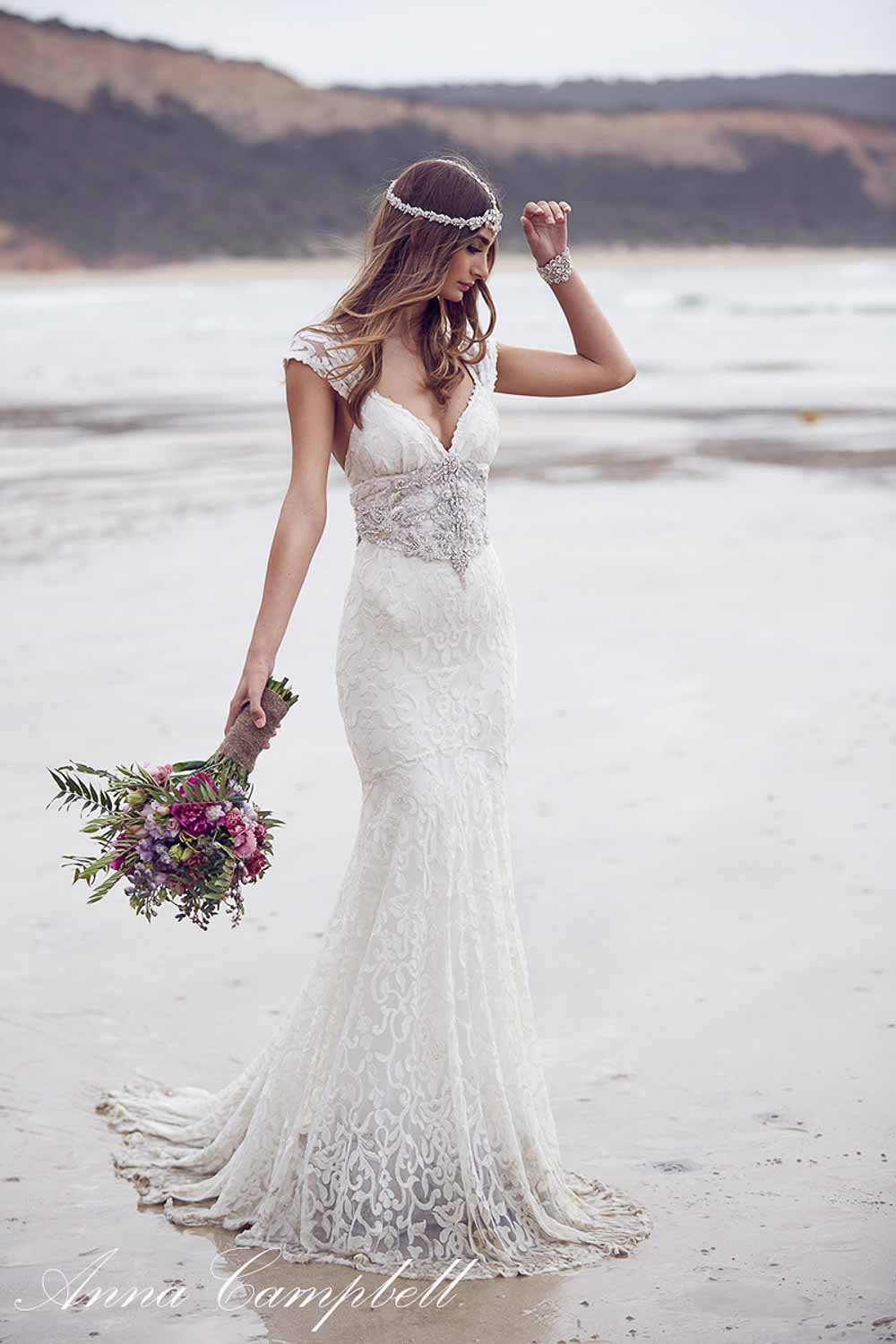 Anna Campbell Spirit Collection Wedding Dress 26