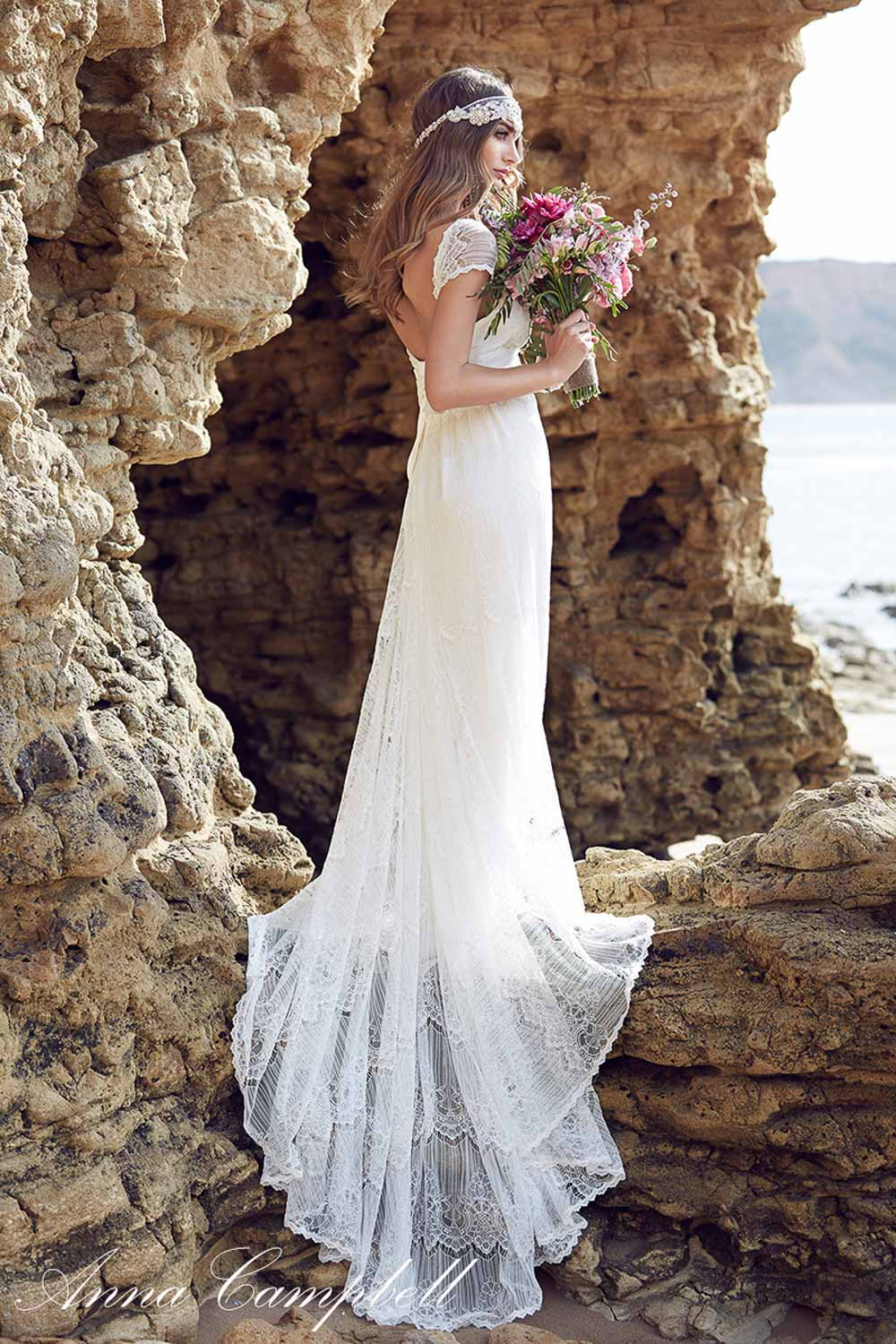 Anna Campbell Spirit Collection Wedding Dress 29